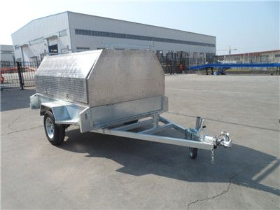 Aluminum Box Trailer