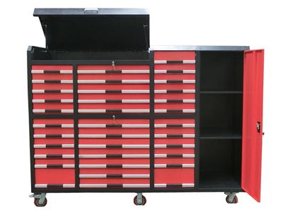 Red 35 Drawer Tool Cabinet