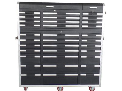33 Drawer Black cabinet