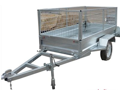 Box Trailer Single Axle
